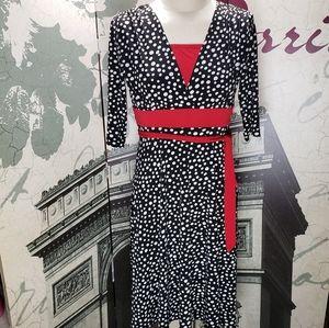 Jody California VTG Pinup Rockabilly Dress Size 5